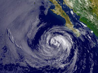 Hurricane Rick Weakens to Tropical Storm in Pacific