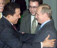 Venezuela's Chavez proud of newly acquired Russian guns