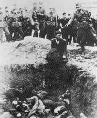 Victims of Holocaust horror found in Ukraine
