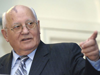 Gorbachev mad at NATO for not letting Europe breathe with both lungs