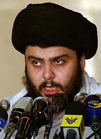 Shrine bombing to test political skills of al-Sadr