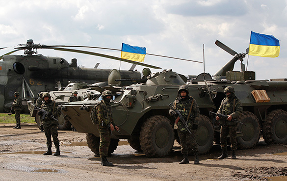 Ukraine and US wage war in Lviv. Ukraine