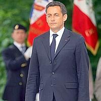 French President Sarkozy in Warsaw