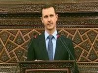 Al-Assad addresses the new Syrian Parliament. 47286.jpeg