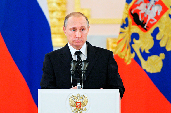 Putin names main value of Russia. Vladimir Putin