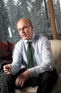 Finnish  Kone's 3Q profits jump