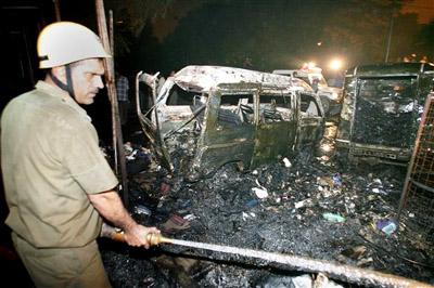 Terrorist attacks in Delhi