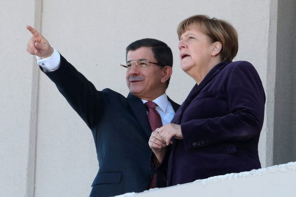 Merkel meets more often with Turkish Ministers than with German. Merkel