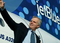 JetBlue generates first profit in two years