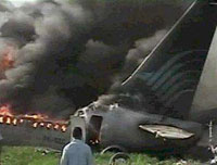Indonesian jetliner crashes killing 49