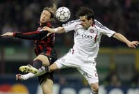 Bayern hopes to buck history when it faces Milan in Champions League