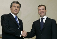 Russia's Medvedev holds talks with presidents of former USSR