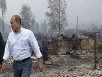 Even Russia's Wildfires Provide Tinder for Political Jibes