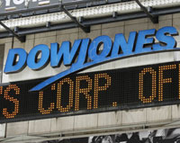 Dow tumbles nearly 280 points due to Citi quarterly loss