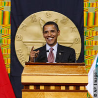Obama's Nobel Speech Becomes Mix of Realism and Idealism