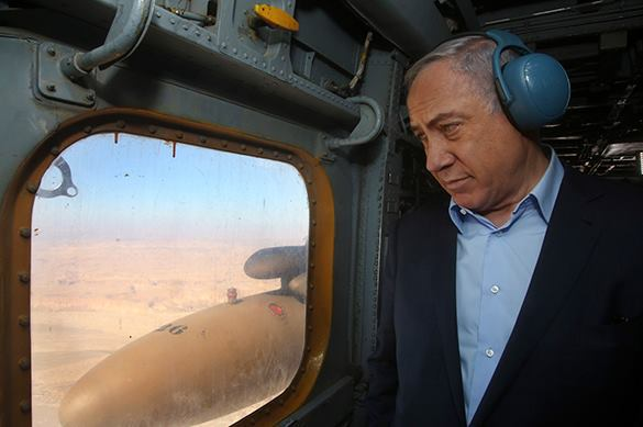 Netanyahu shuts Israel in from the outside world. Netanyahu