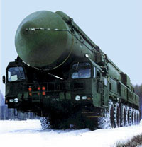 Topol-M (SS-27) missile
