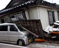 Strong Earthquake Hits off Japan