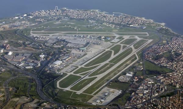 Suicide bombers attack Istanbul international airport, 10 killed. Ataturk International Airport