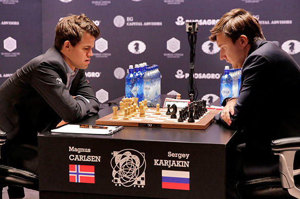 Magnus Carlsen loses to Russia's Karjakin and walks out of press conference. 59299.jpeg