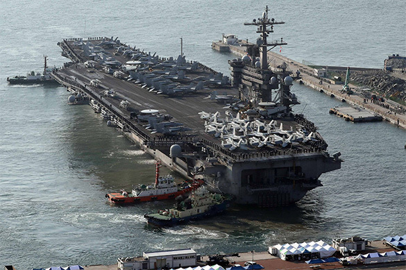 USA to send additional aircraft carriers to North Korea. 60301.jpeg
