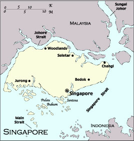 Afghanistan officers visiting Singapore