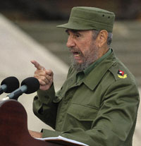 Fidel Castro predicts Bush can trigger World War III