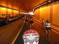 Main Denmark's tunnel reopens