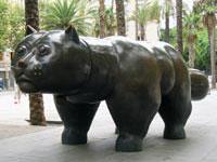 Fernando Botero's works stolen