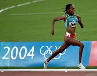 Meseret Defar breaks her own world record