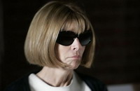Anna Wintour to adorn British fashion week