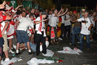 Police detain about 200 in Austria on first day of Euro-2008
