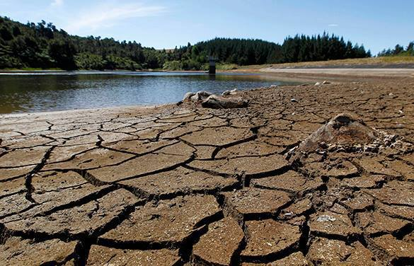 Largest ever drought approaches America. Drought