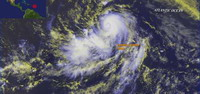 Hurricane Dean attacks Caribbean islands