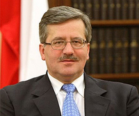 Bronislaw Komorowski Poland's New President Is Sworn In