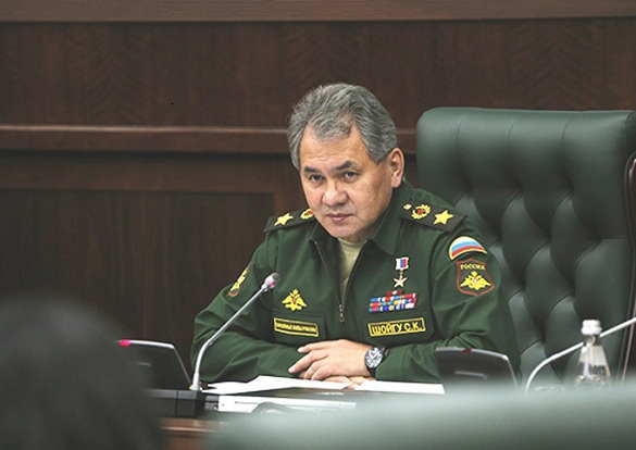 Russian Baltic fleet Command suspended for distorting reality. Sergey Shoygu