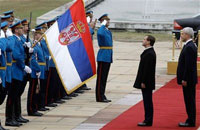 Why Did Medvedev Go to Serbia?