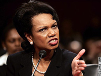 Condoleezza Rice thinks Moscow informed Saddam Hussein of imminent US-led invasion of Iraq