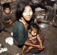 Poverty won't be defeated in Asia by 2015