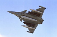 Training mission ends in French Rafale fighter plane's crash