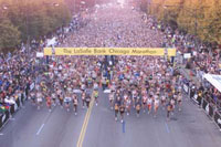 Chicago Marathon: more than two hundred hospitalized, one dead