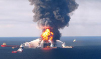BP Lowers Dome to Contain Oil Spill
