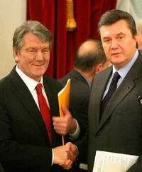 Yushchenko's supporters will join the coalition with Yanukovich