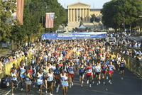 30th Philadelphia Distance Run Half Marathon won by Julius Kibet and Pamela Chepchumba