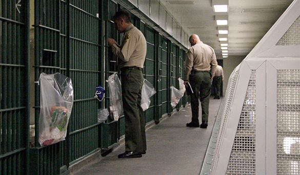 US inmates pay for incarceration. US prison