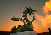 China protests against Western image of fire-breathing monster dragon