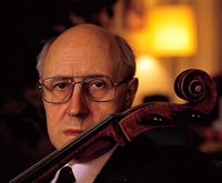 Famed Russian cellist Mstislav Rostropovich discharged from hospital