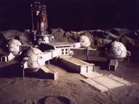 Manned lunar bases may launch new era in space tourism