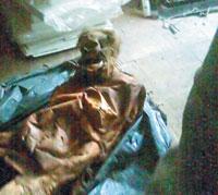Mummified mother kills her greedy daughter
