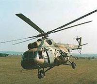 Chopper crash in Pakistan